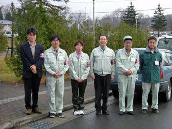 写真1:こころのケアチーム