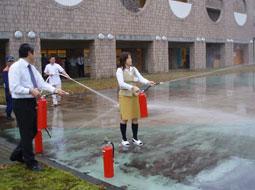写真:秋の防災訓練2